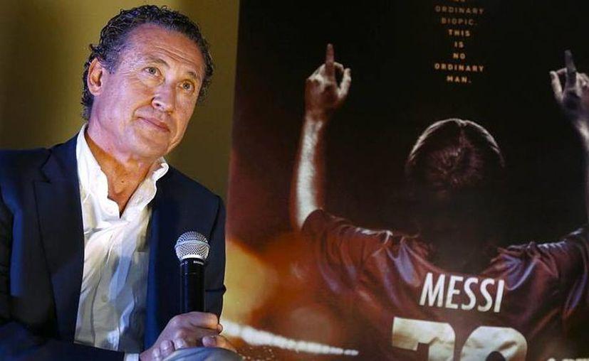 Uno de los personajes que aparece en el filme 'Messi' es Jorge Valdano, exfutbolista y exseleccionado argentino, campeón del Mundial de 1986. (marca.com)