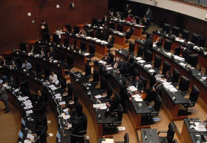 El 19 de abril del presente el Senado de la República (foto) turnó a la Cámara de Diputados la minuta sobre telecomunicaciones. (Agencias/Archivo)