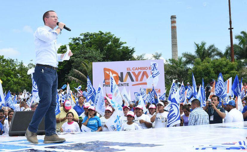 Anaya Cortés reiteró que su prioridad central, y a la vez un compromiso primordial con Tamaulipas. (Notimex)