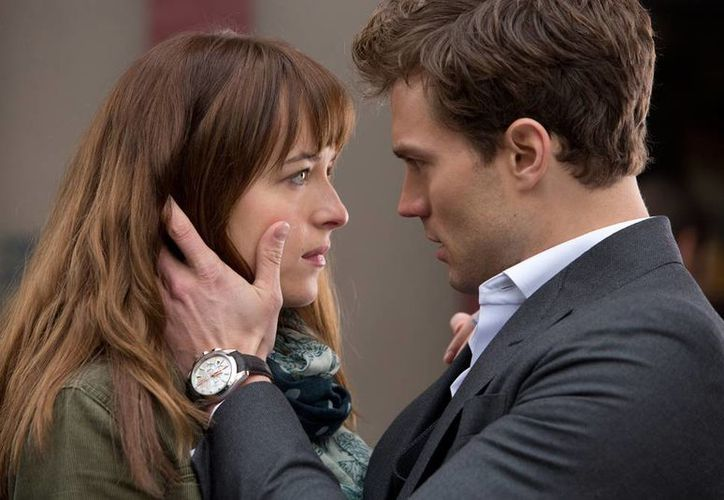El drama erótico '50 sombras de Grey' ya rompió varios récords fílmicos. (Agencias)