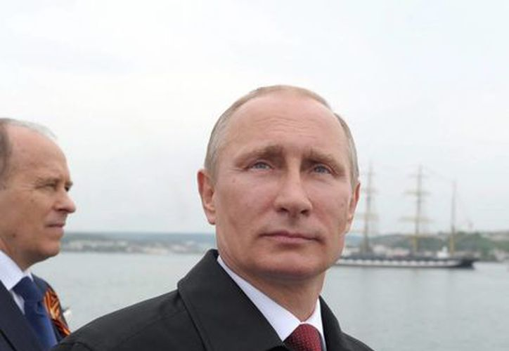Mientras el conflicto con Ucrania sigue 'al rojo vivo' Putin viaja a China para entablar acuerdos. (EFE)
