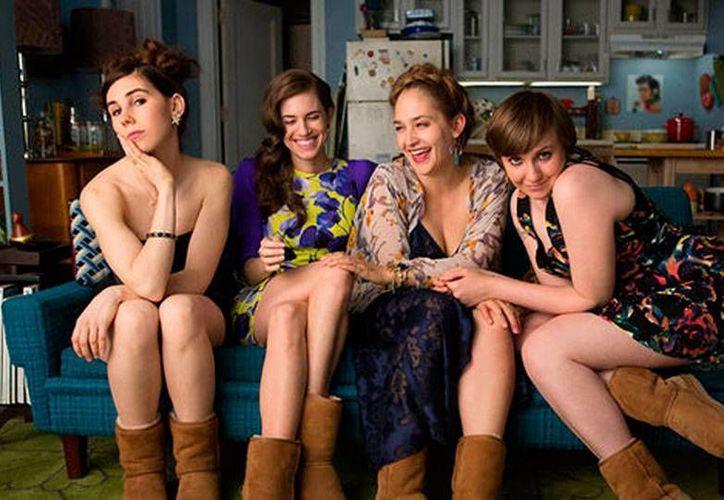 La serie 'Girls' cuenta la vida de cuatro amigas en Brooklyn en una suerte de versión dura y desangelada de la célebre Sex and The City. (Milenio Digital)