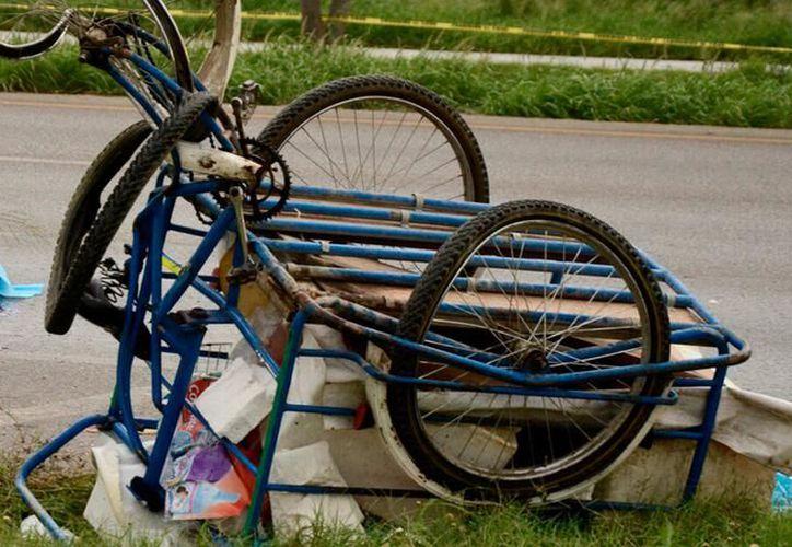 Una mujer que vendía tortas falleció en junio pasado al ser atropellada por un automovilista. (SIPSE)