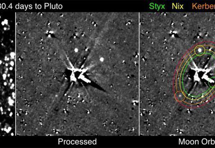 La misión 'New Horizons' espera tomar más imágenes de Plutón. (NASA)