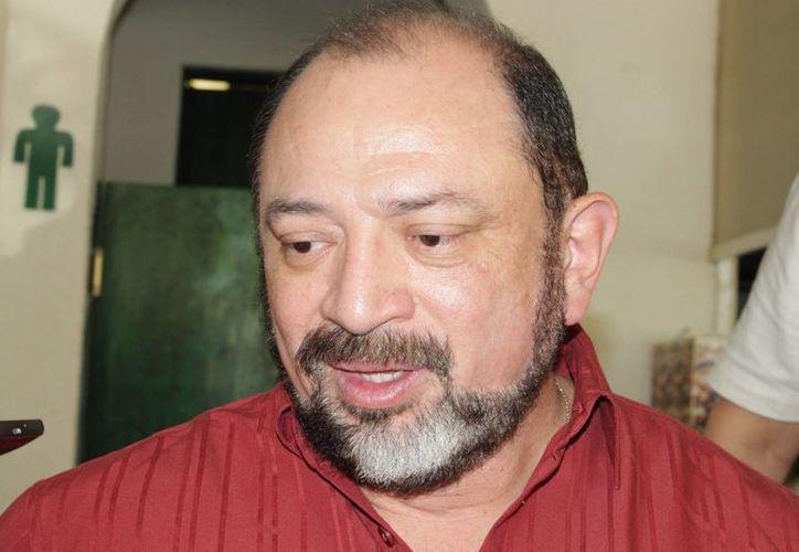 Darío Flota Ocampo, director del Fideicomiso de Promoción Turística. (Adrián Barreto/SIPSE)