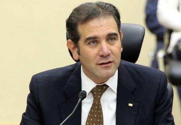 Lorenzo Córdova Vianello, presidente del Instituto Nacional Electoral (INE). (Milenio)
