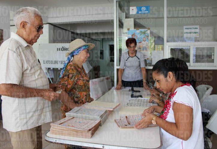 La documentación electoral debe llegar en el estado en el mes de junio. (Joel Zamora/SIPSE)