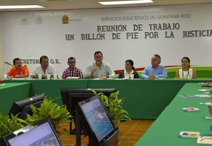 En conferencia de prensa, se presentó la campaña mundial en la que participará Quintana Roo. (Cortesía)