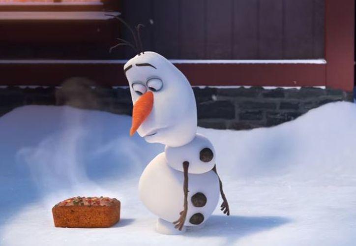 La aventura de Olaf será vista en las funciones de Coco. (Foto: YouTube)