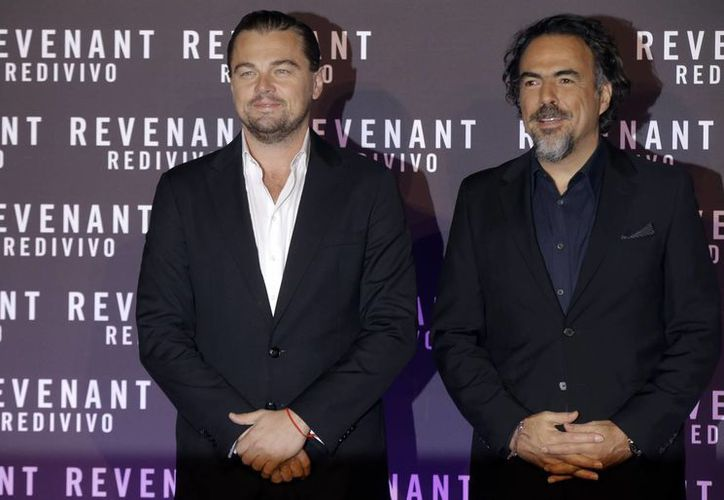 Leonardo DiCaprio y Alejandro González Iñárritu, quienes trabajaron juntos por primera vez en un filme, The Revenant, están en Roma para promocionarlo previo a su estreno italiano. (AP)