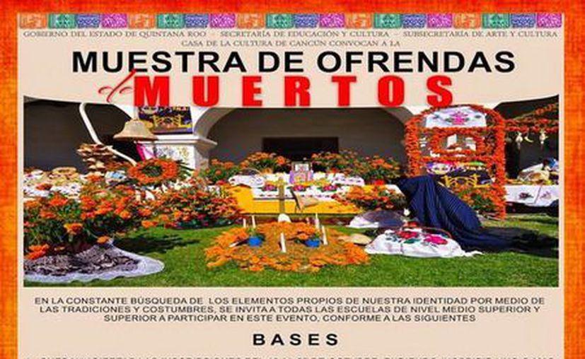 La convocatoria se abrió desde el 15 de octubre en la Casa de le cultura de Cancún. (Redacción/SIPSE)