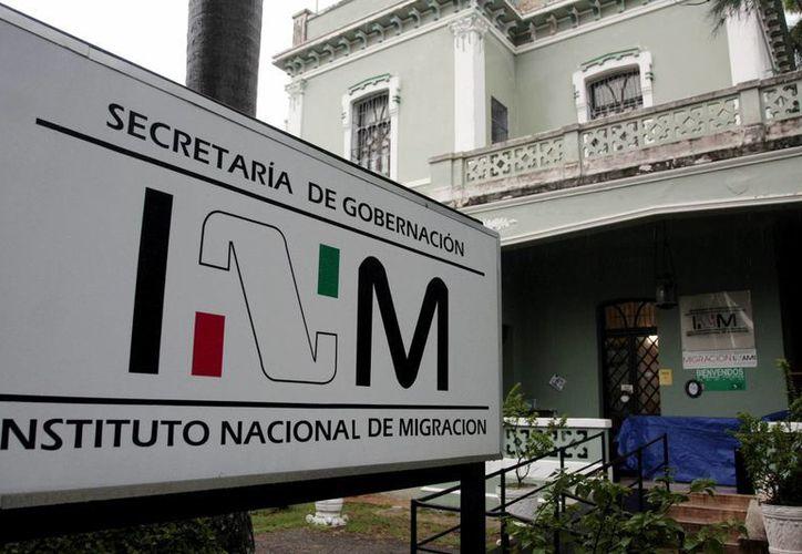 Los guatemaltecos fueron retenidos en el INM en espera de ser deportados a su país de orígen. (Milenio Novedades)