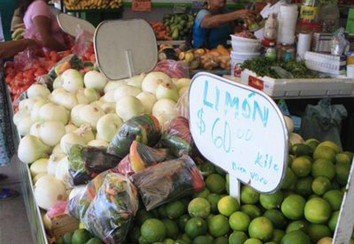 Prevén colocar 450 mil kilogrados de limón en tiendas comunitarias. (Redacción/SIPSE)