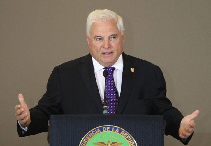 El presidente de Panamá, Ricardo Martinelli, reconoció el triunfo de la oposición. (EFE/Archivo)