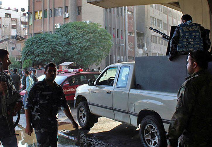 Hay una persona muerta y varios lesionados hasta el momento por ataque en Damasco. (RT)