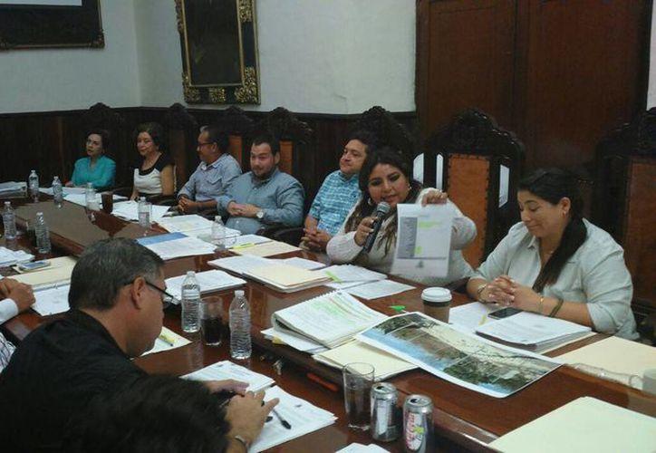 Regidores priistas exhibieron varias quejas durante la sesión de Cabildo. (SIPSE)