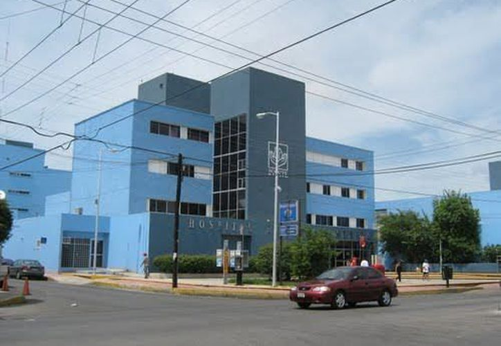 Imagen del hospital regional del Issste, en Mérida. (SIPSE)