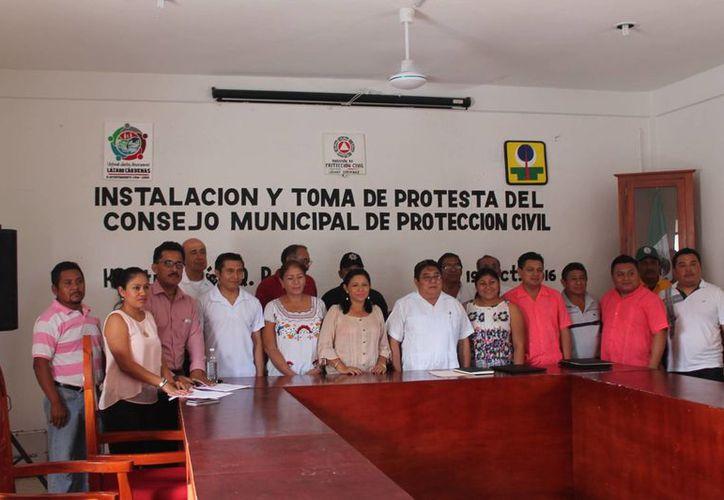 Instalación y toma de protesta de integrantes del consejo. (Raúl Balam/SIPSE)