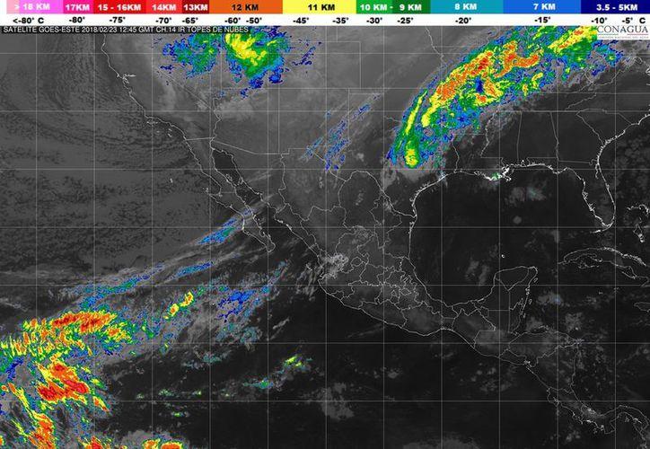 Prevén un cielo parcialmente nublado en Quintana Roo. (Servicio Meteorológico Nacional)