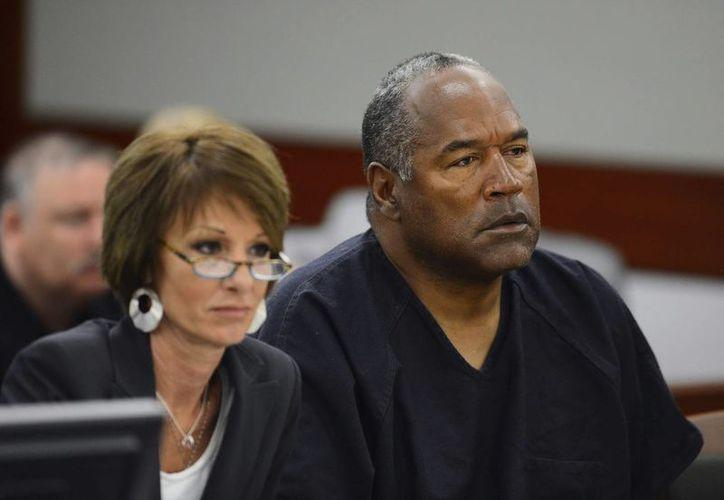 A O.J. aún le falta cumplir sentencias consecutivas por el caso de Las Vegas. (EFE)