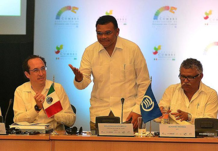El Gobernador Rolando Zapata encabezará este martes la inauguración de la III Cumbre México-CARICOM. (SIPSE)