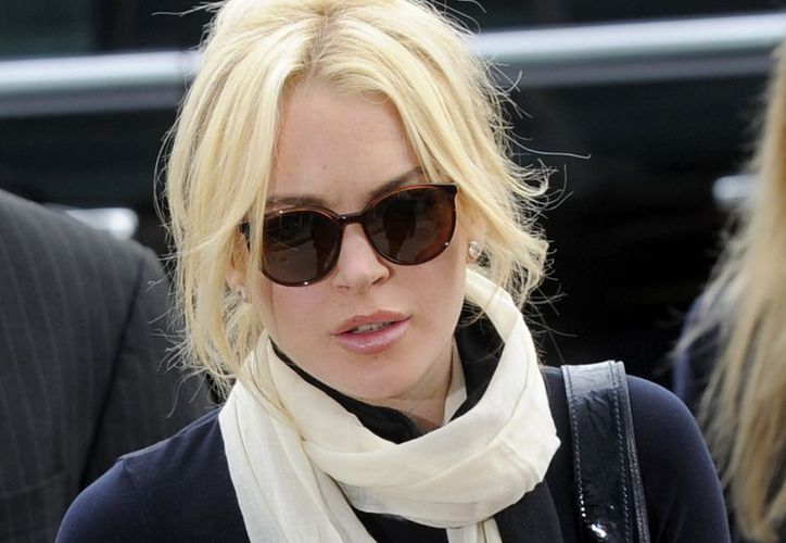Lindsay Lohan admitió haber perdido el control sobre su vida. (Archivo/AP)