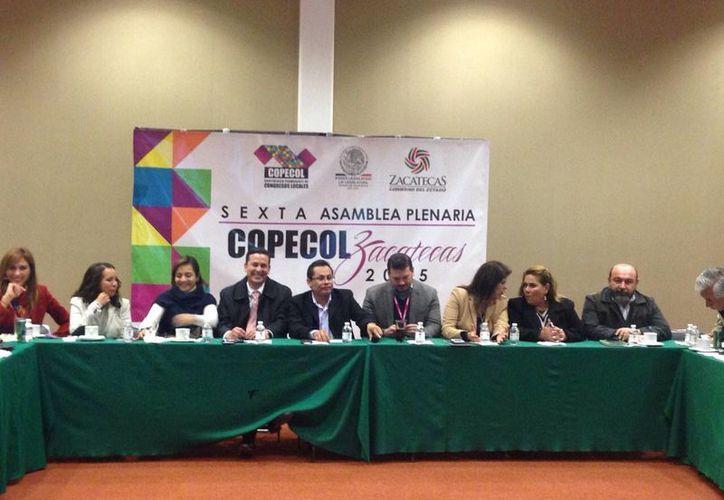 El Poder Legislativo de Yucatán participa en la reunión de la Conferencia Permanente de Congresos Locales de México. (SIPSE)