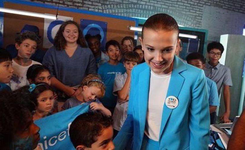 Las firmas de apoyo a esta campaña de la UNICEF se entregarán exactamente dentro de un año. (Instagram)