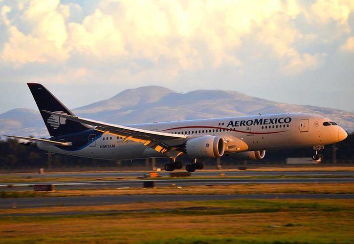 Actualmente, Delta posee aproximadamente el 4.2% de las acciones en circulación de Grupo Aeroméxico. (César A. Oznaya A./facebook.com/AeromexicoMX)