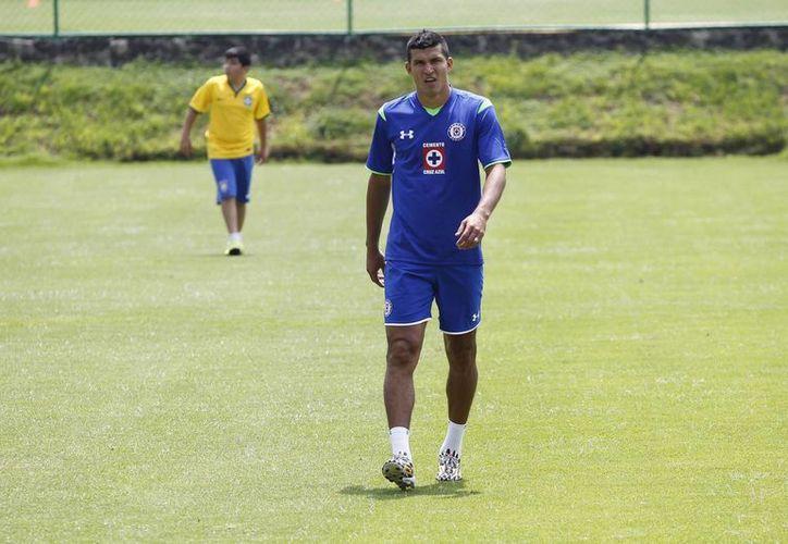 Por una lesión el cruzazulino y mundialista mexicano Francisco 'El Maza' Rodríguez se perderá el duelo ante Toluca, pero podría reaparecer para el partido ante Atlas. (Notimex/Foto de archivo)
