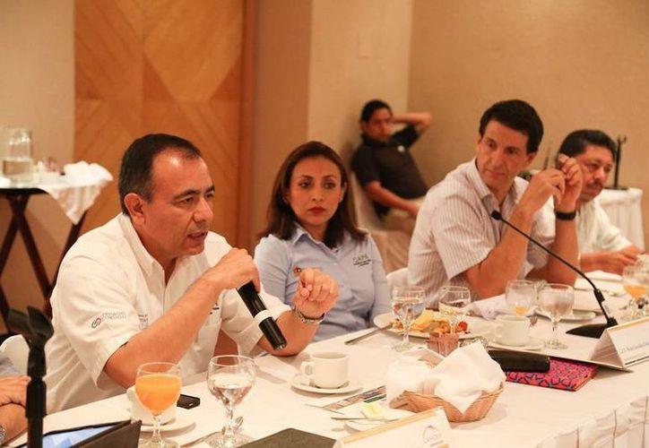 El delegado de la CAPA en la Zona Norte, Manuel Torres Muñoz. (Redacción/SIPSE)