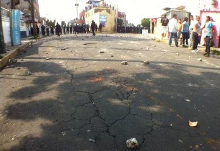 El enfrentamiento ocurrió en calles de Santa Martha Acatitla. (Milenio)