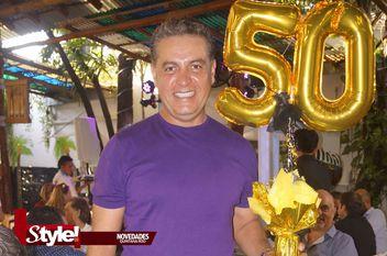 Miguel Arce festejó sus 50 años