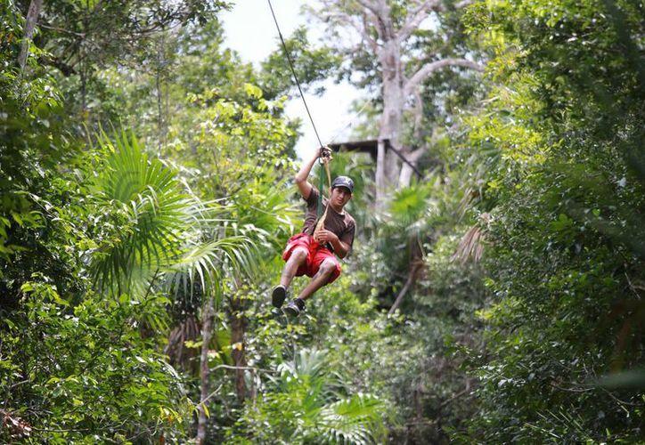 Los visitantes pueden disfrutar de diferentes actividades. (Luis Soto/SIPSE)