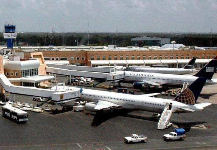 El Aeropuerto de Cancún opera a la mitad de su capacidad. (Foto de Contexto/Internet)