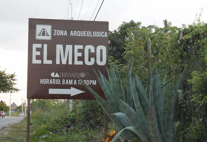 El Meco se ubica frente a Puerto Juárez. (Israel Leal/SIPSE)