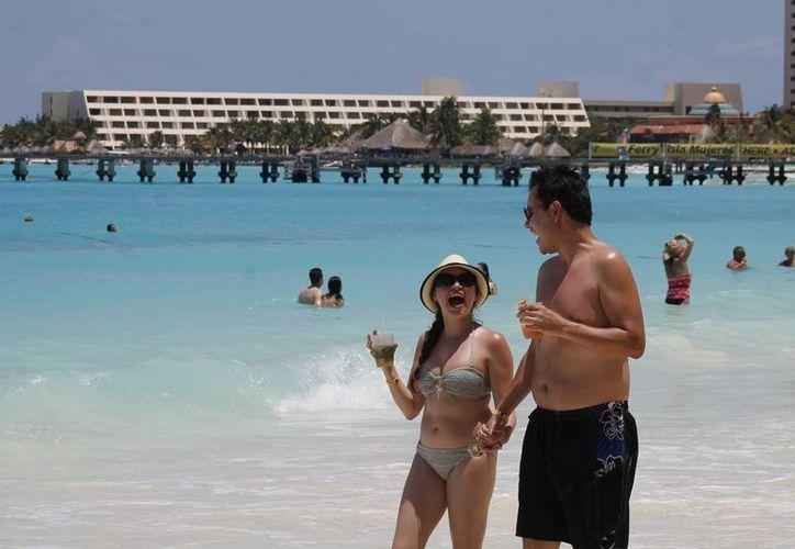 Será en julio cuando se presente la campaña de promoción para Cancún. (Jesús Tijerina/SIPSE)