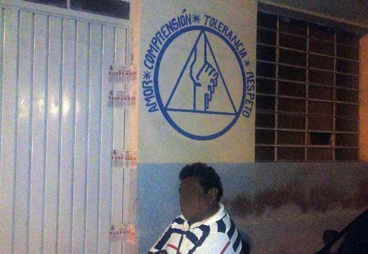 El Ayuntamiento clausuró el local del grupo de autoayuda para drogadictos 'Renacer' , en el Centro de Mérida. (SIPSE)