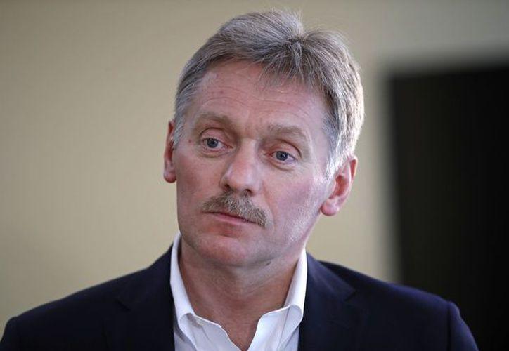 """Peskov calificó como """"sumamente trágico"""" el atentado en Siria. (Foto: AP)"""