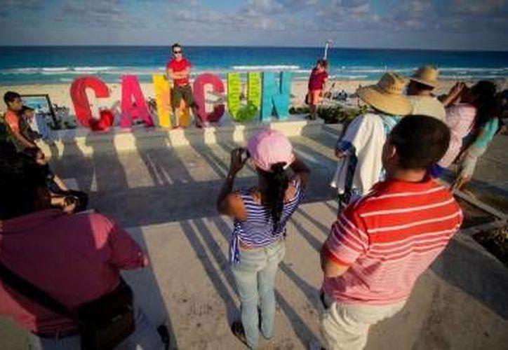 El presente año se esperan más de 30 millones de turistas en destinos de Quintana Roo como Cancún. (Notimex)