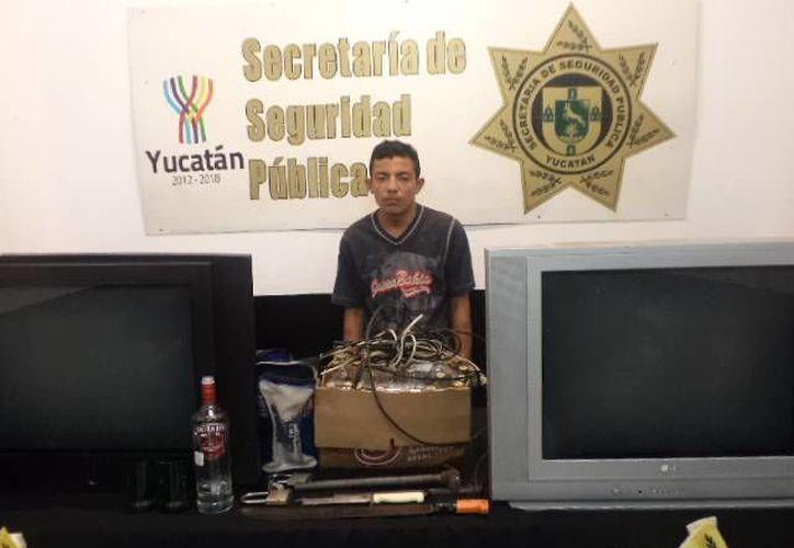 La primera vez que Jonathan Alberto Cruz Baas estuvo preso tenía 16 años y fue por un crimen. Ahora volverá a prisión por robo. (Cortesía)