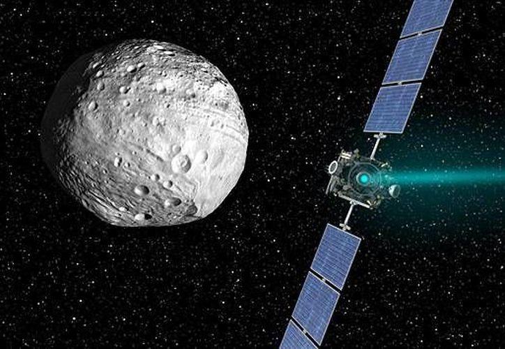 El meteorito 1950 DA se desplaza a una velocidad de nueve millas por segundo. (nasa.gov)