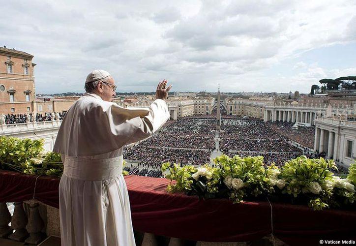 """El Papa Francisco rogó por la """"paz para el mundo entero"""". (Reuters)"""