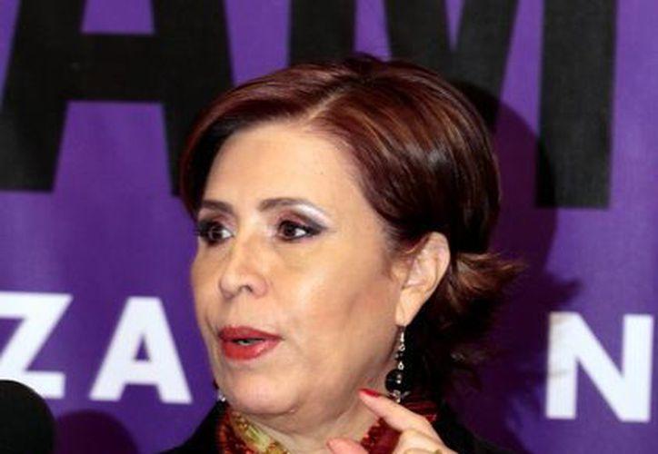 La titular de la Sedesol, Rosario Robles Berlanga. (Archivo/Notimex)