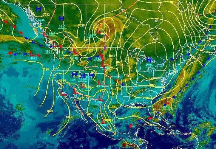 Soplarán vientos del sureste de 25 a 35 km/h. (Redacción/SIPSE)