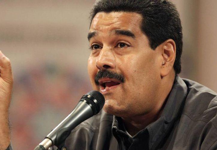 Maduro aseguró sentir 'el espíritu' de Chávez. (Agencias)