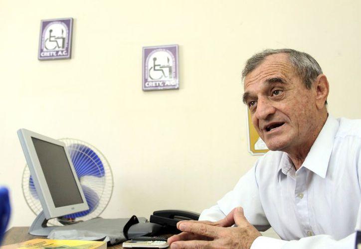 El presidente del Crety, José Luis Vales Lara. (Christian Ayala/SIPSE)
