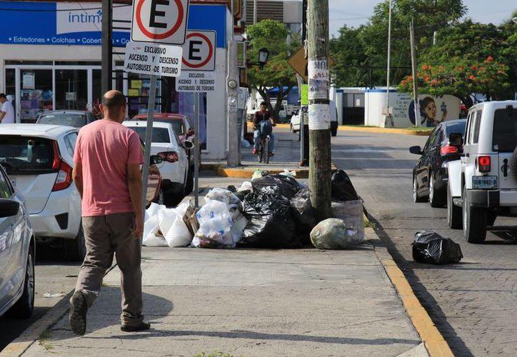 Se había implementado el proyecto de separación de basura, pero no funcionó. (Israel Leal/SIPSE)