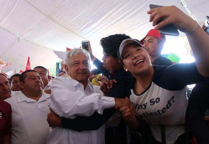 Andrés Manuel López Obrador pidió a sus seguidores tenerle confianza. (Notimex)