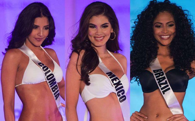 Las favoritas de Metro para ser Miss Universo 2017